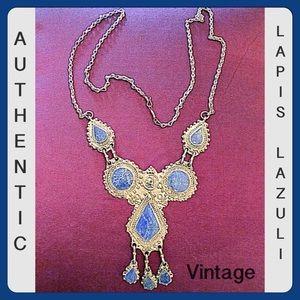 ✨VTG Auth. Afghani Bedouin Lapis Lazuli Necklace✨